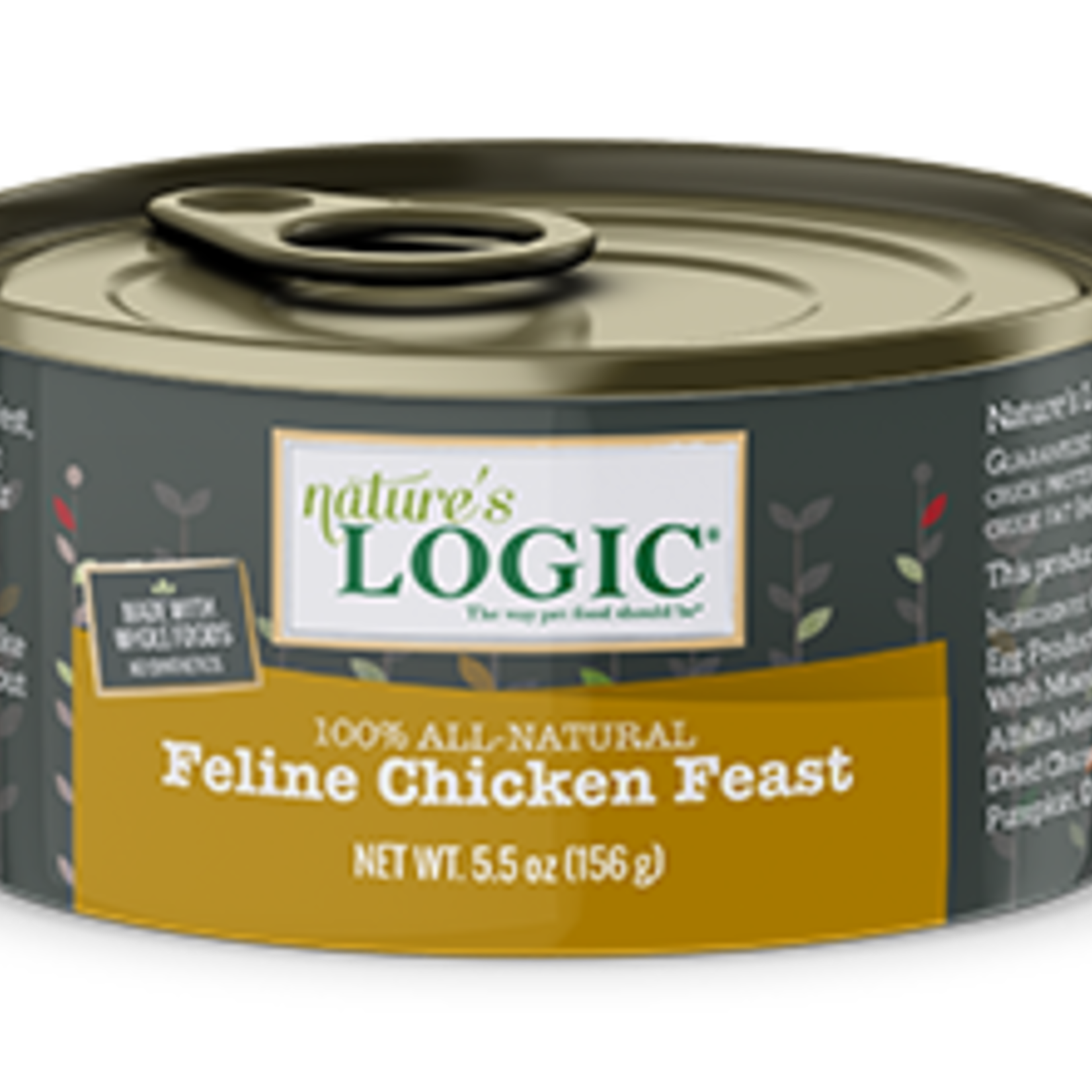 Natures Logic Natures Logic Cat Grain Free Chicken Feast 5.5 OZ