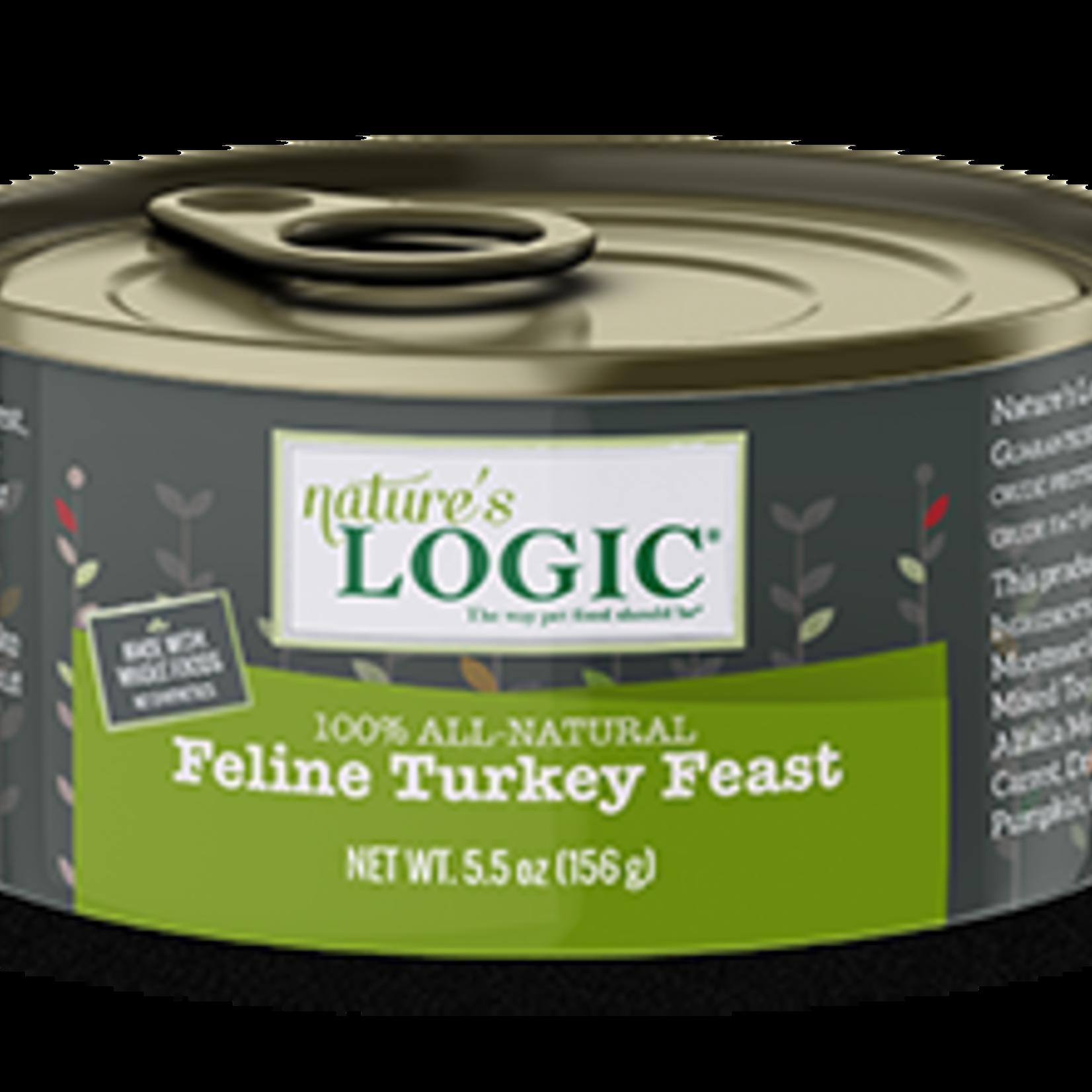 Natures Logic Natures Logic Cat Grain Free Turkey Feast 5.5 OZ