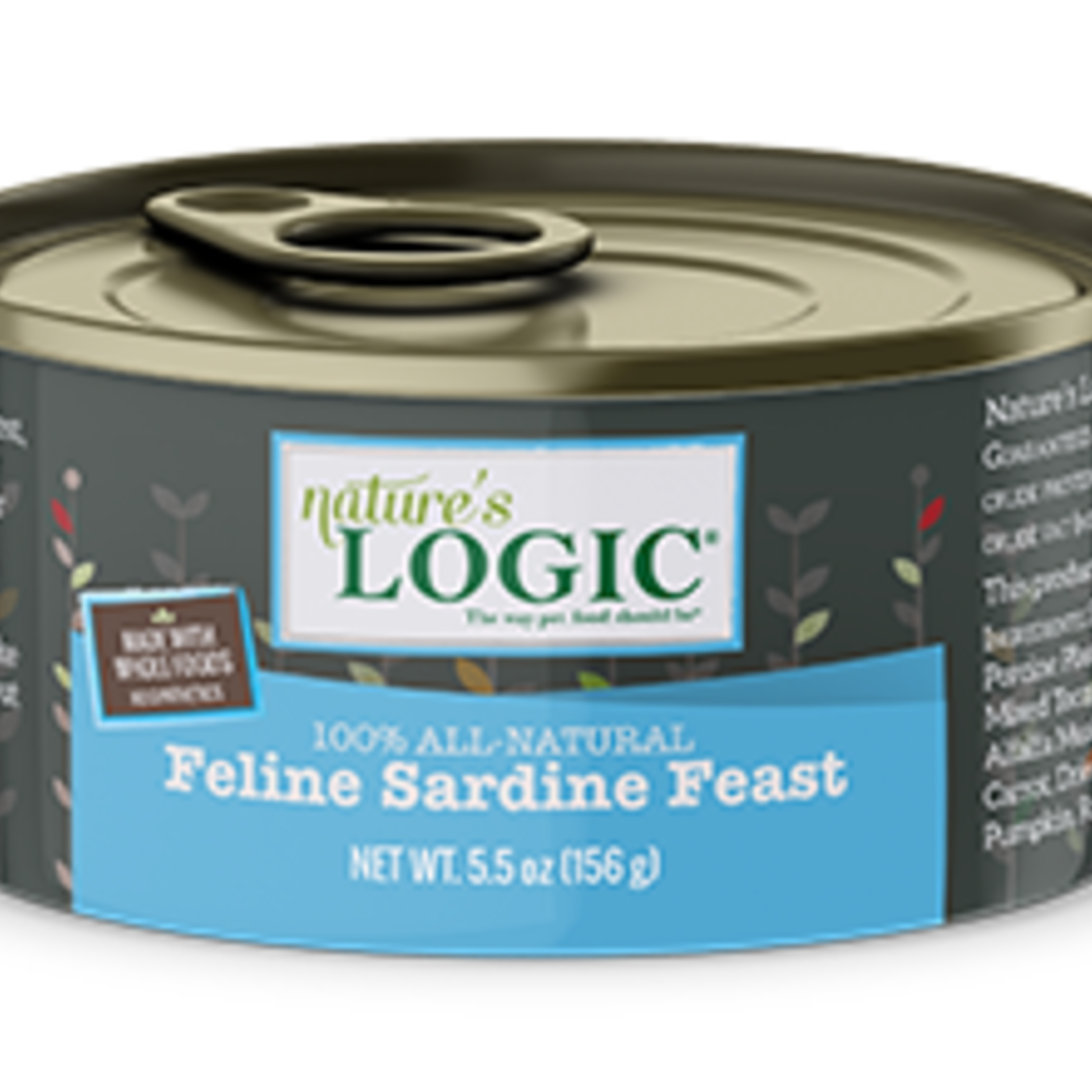 Natures Logic Natures Logic Cat Grain Free Sardine Feast 5.5 OZ