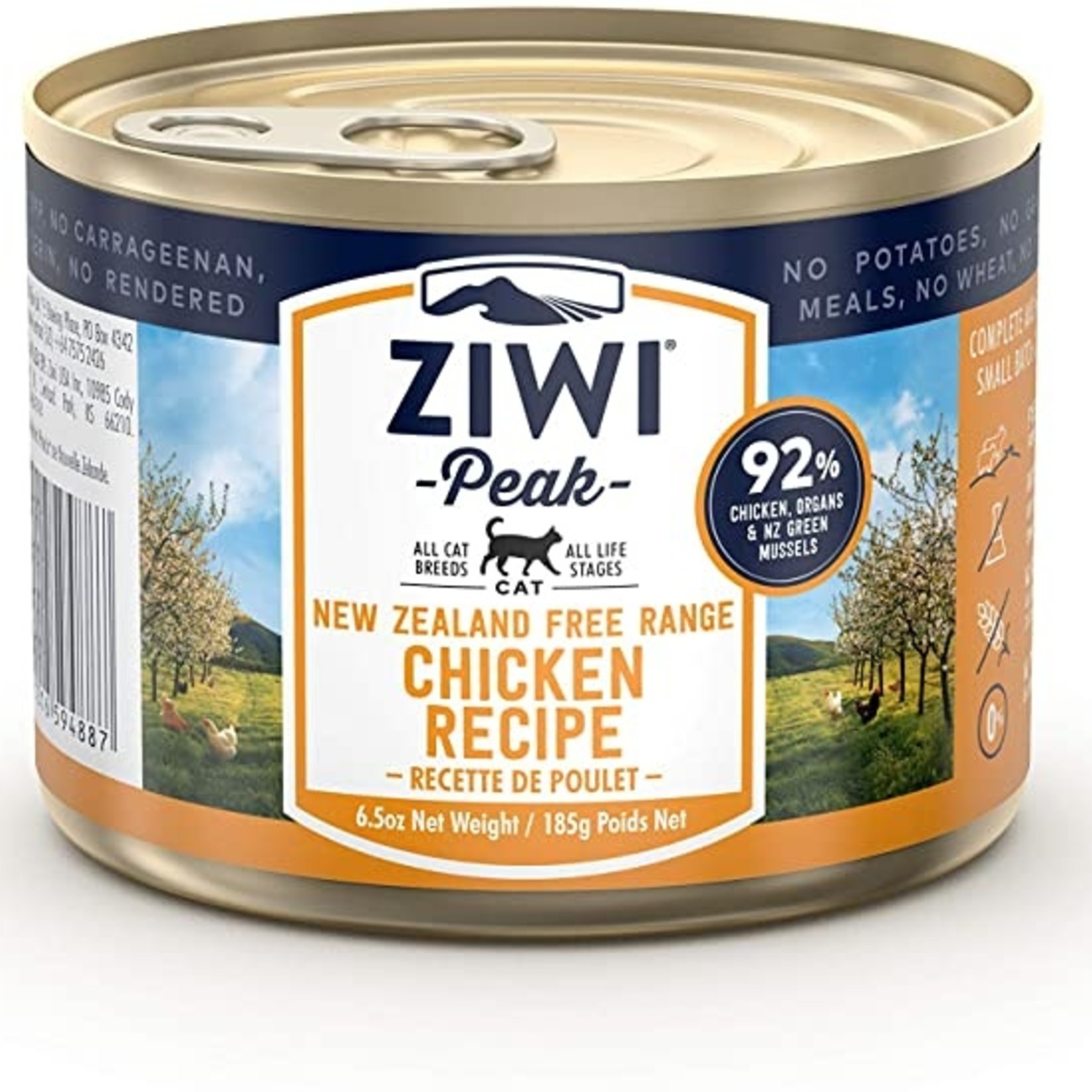 Ziwi Peak Ziwi Peak Cat Grain Free Chicken 6.5 OZ