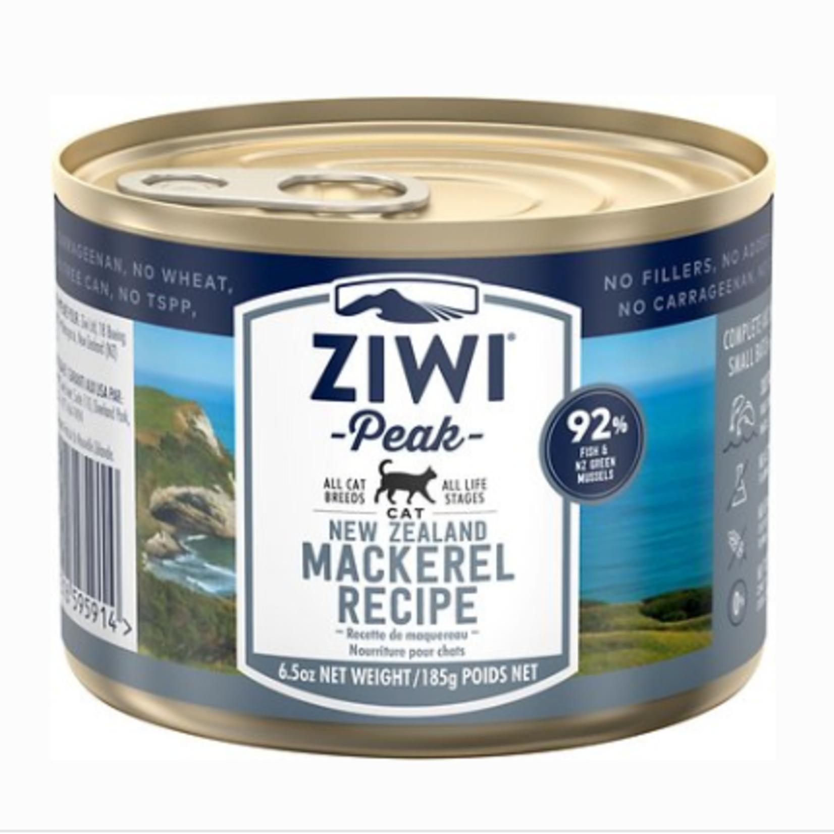 Ziwi Peak Ziwi Peak Cat Grain Free Mackerel 6.5 OZ