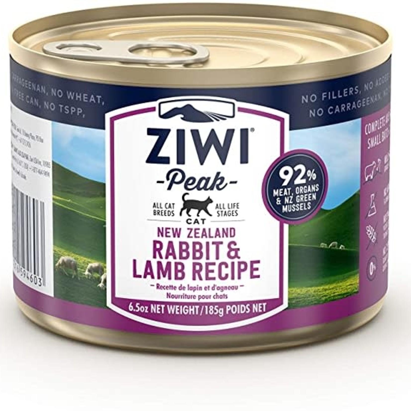 Ziwi Peak Ziwi Peak Cat Grain Free Rabbit & Lamb 6.5 OZ