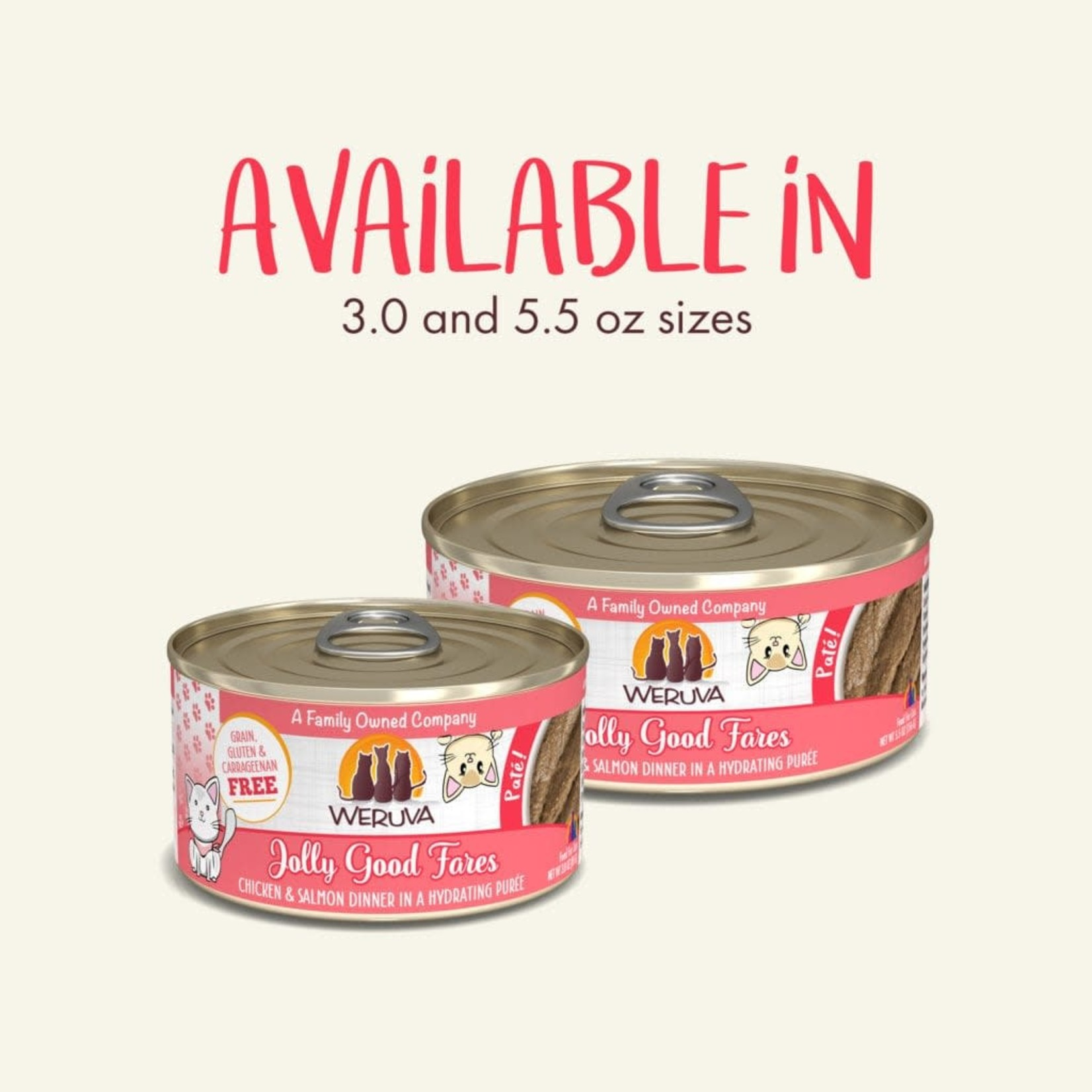 Weruva Inc. Weruva Cat Pate Jolly Good Fares 5.5 OZ Can