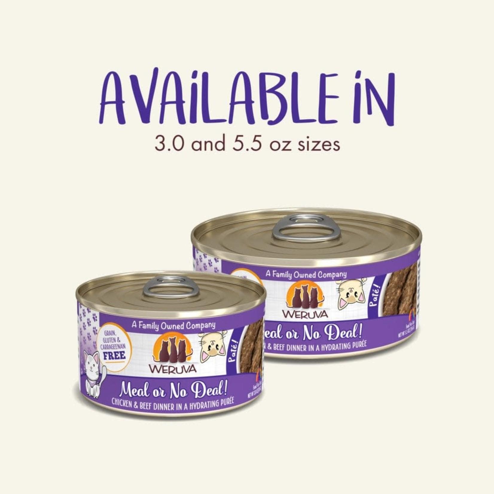 Weruva Inc. Weruva Cat Pate Meal Or No Deal 3 OZ Can