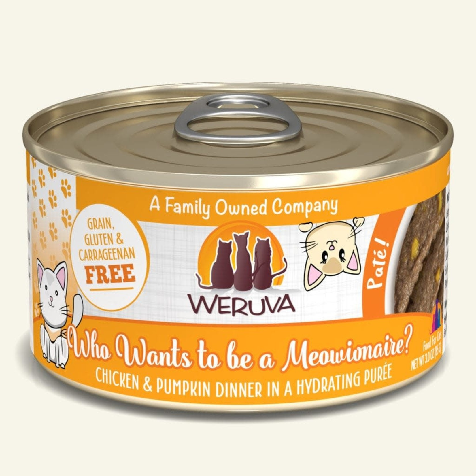 Weruva Inc. Weruva Cat Pate Who Wants To Be A Meowionaire 3 OZ Can