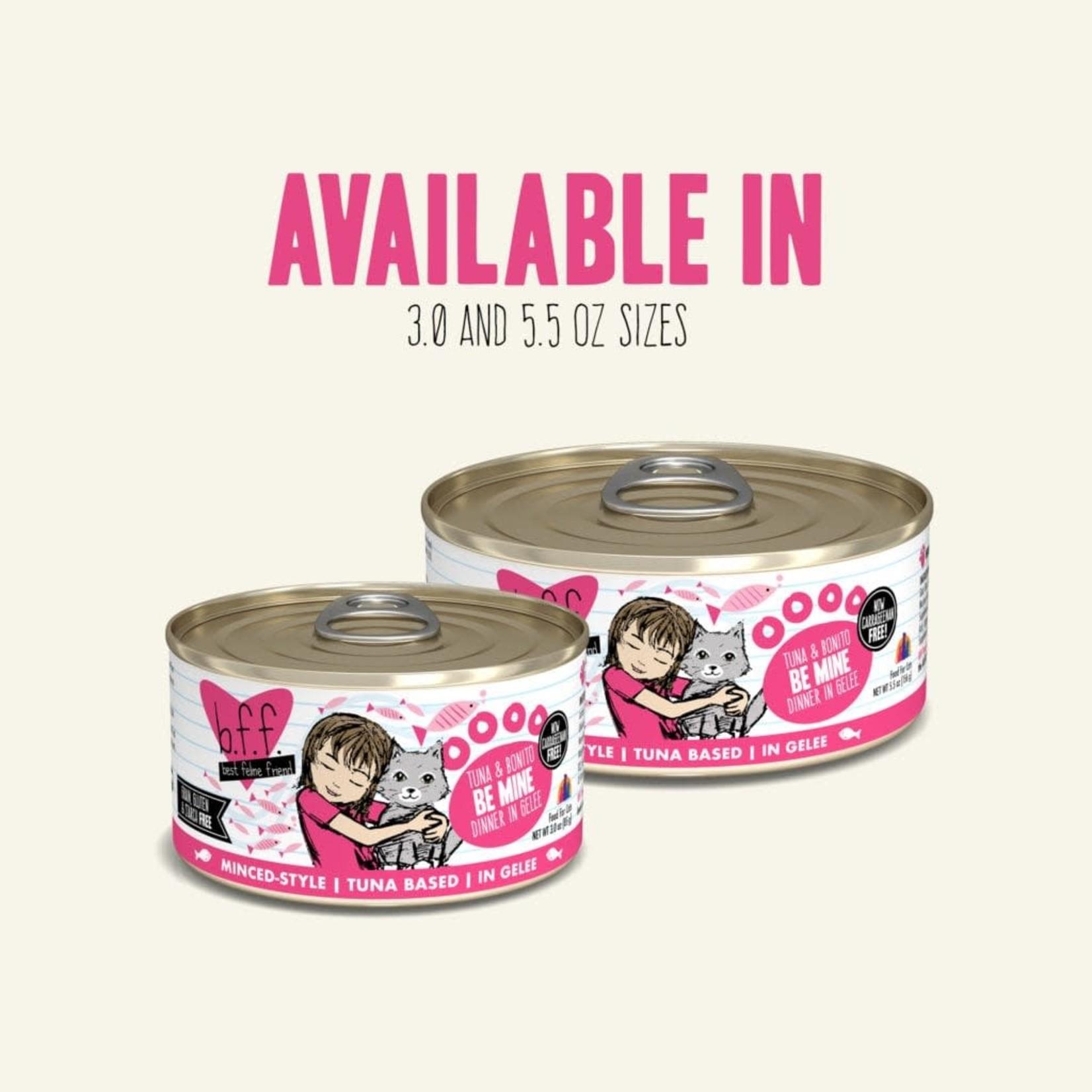 Weruva BFF Cat Tuna & Bonito Be Mine 5.5 OZ