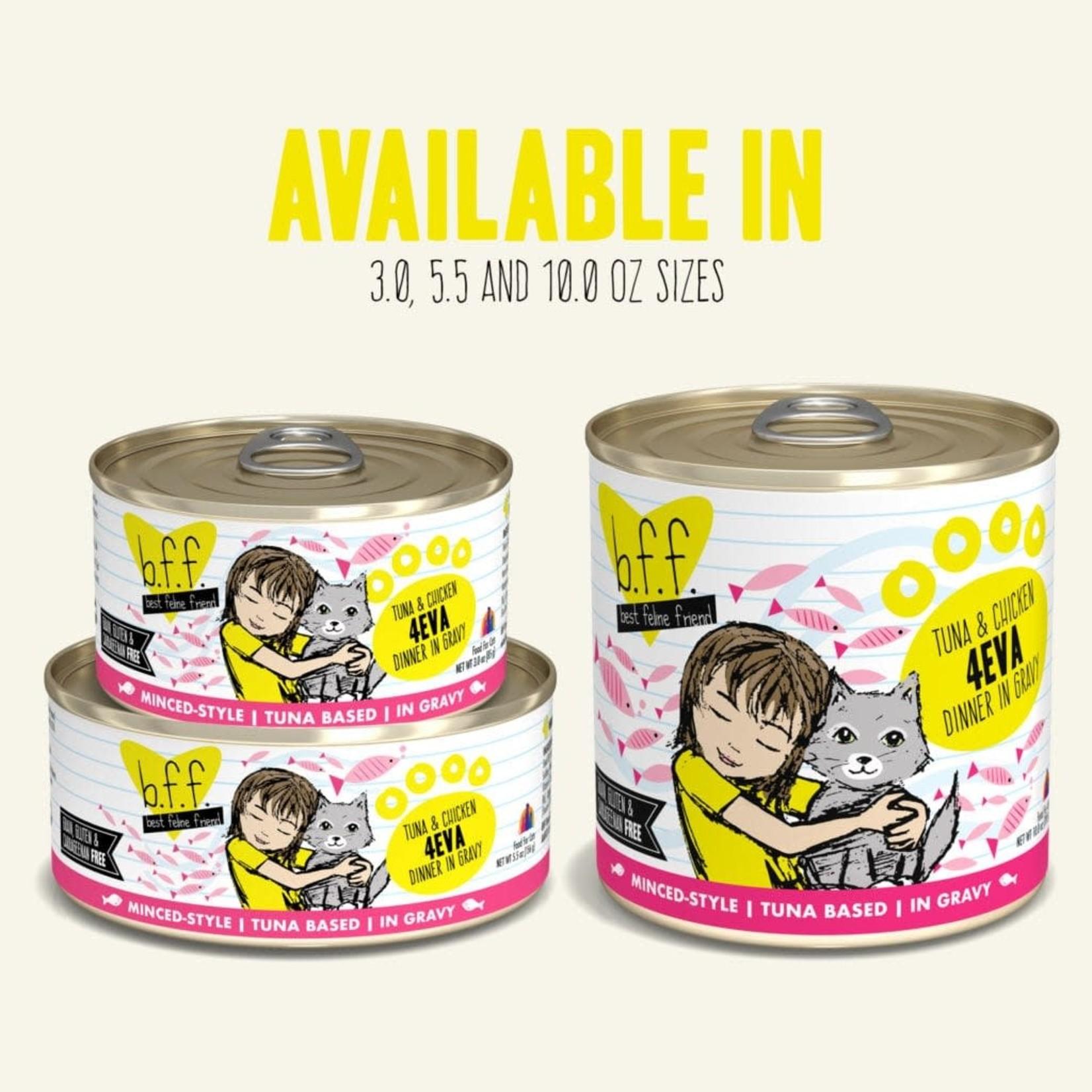 Weruva Inc. BFF Cat Tuna & Chicken 4-Eva Can 3 OZ