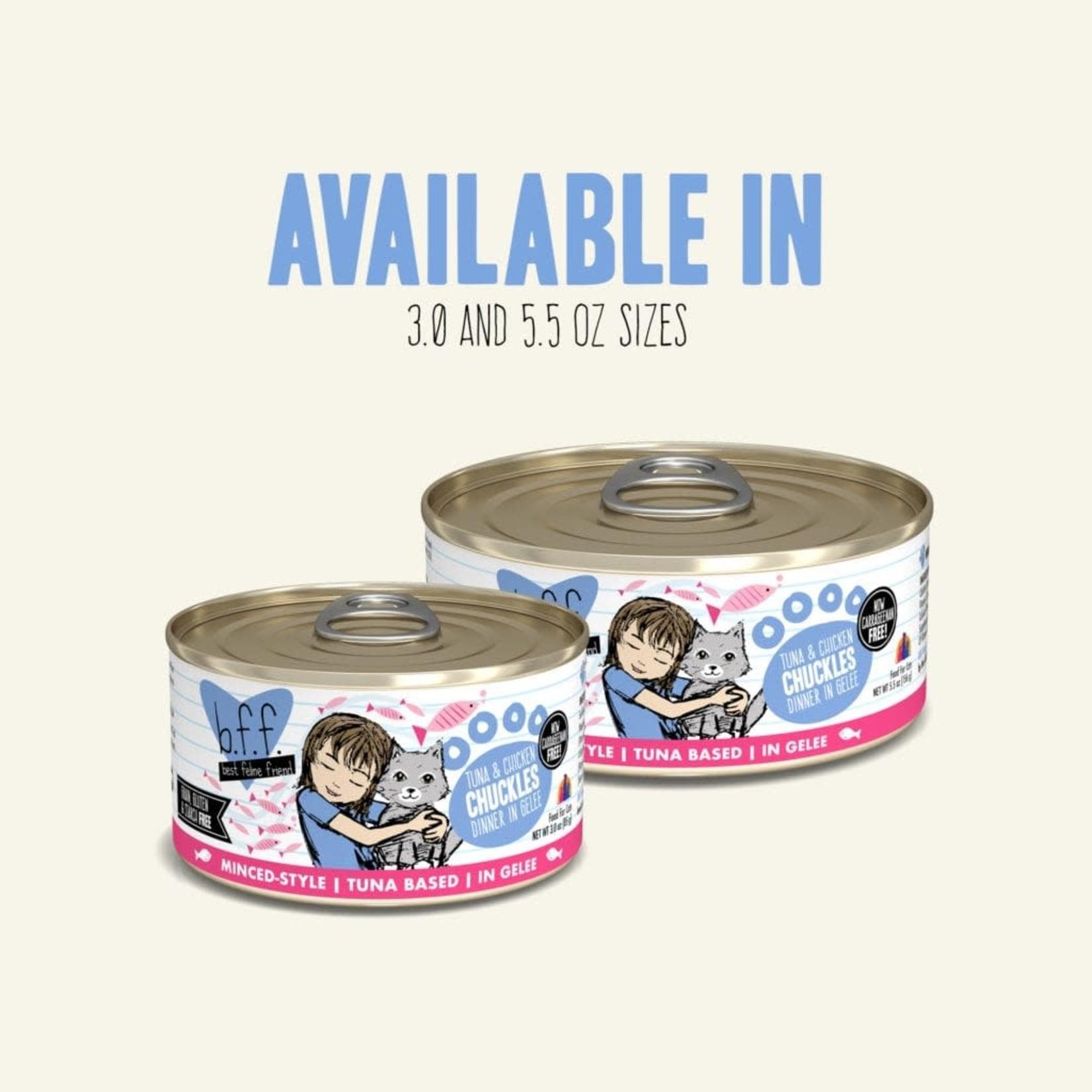 Weruva Inc. BFF Cat Tuna & Chicken Chuckles 5.5 OZ