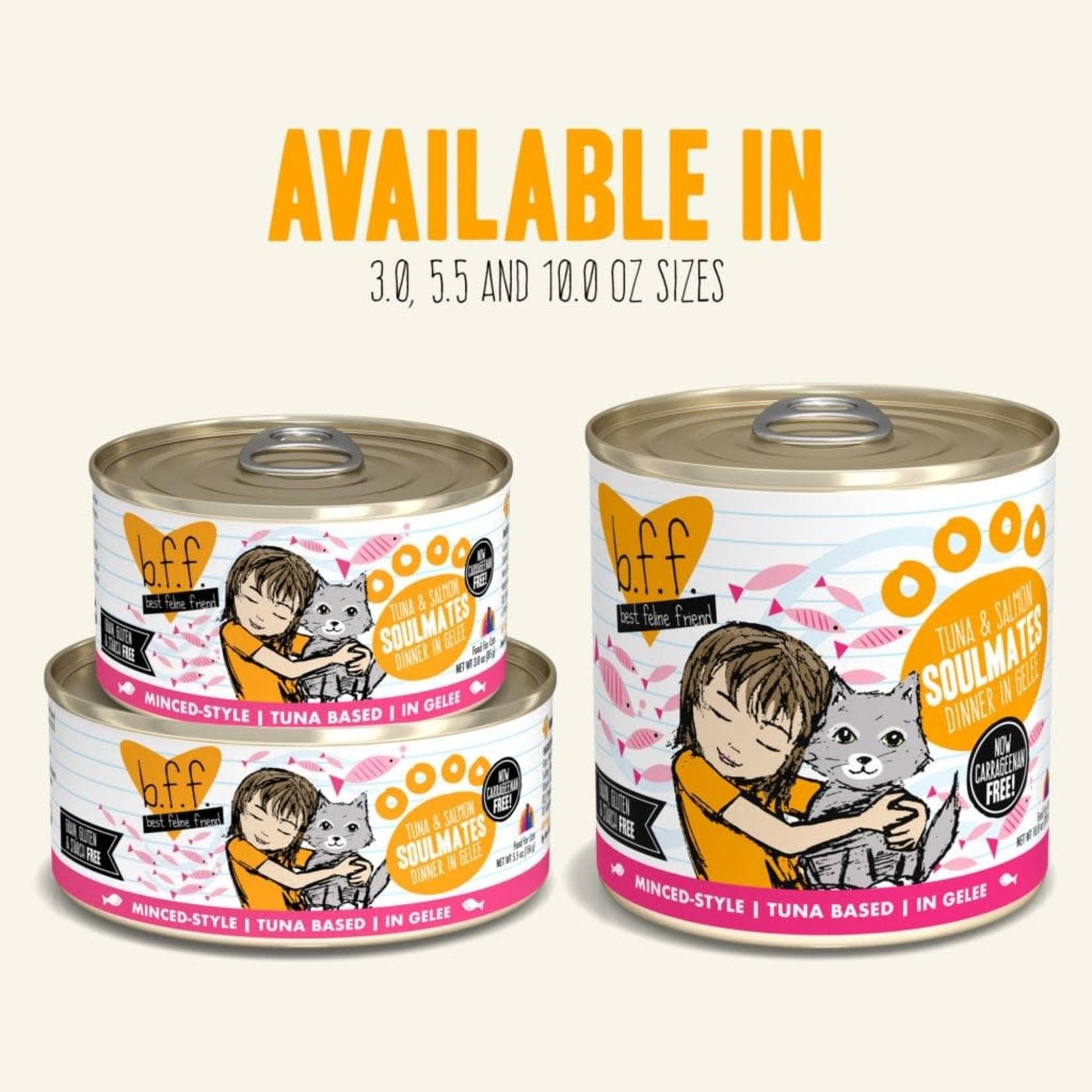 Weruva Inc. BFF Cat Tuna & Salmon Soulmates Can 3 OZ