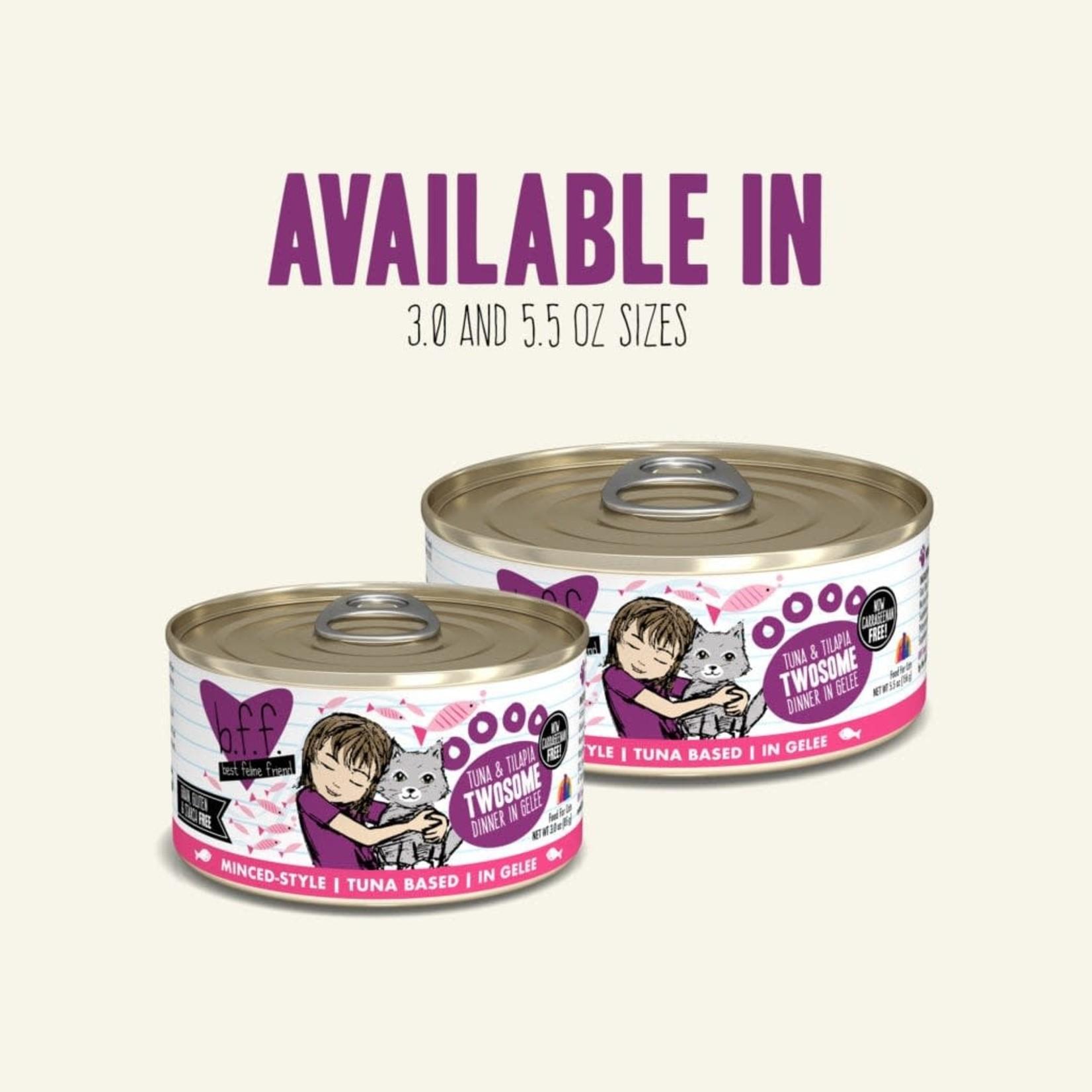 Weruva Inc. BFF Cat Tuna & Tilapia Twosome 5.5 OZ