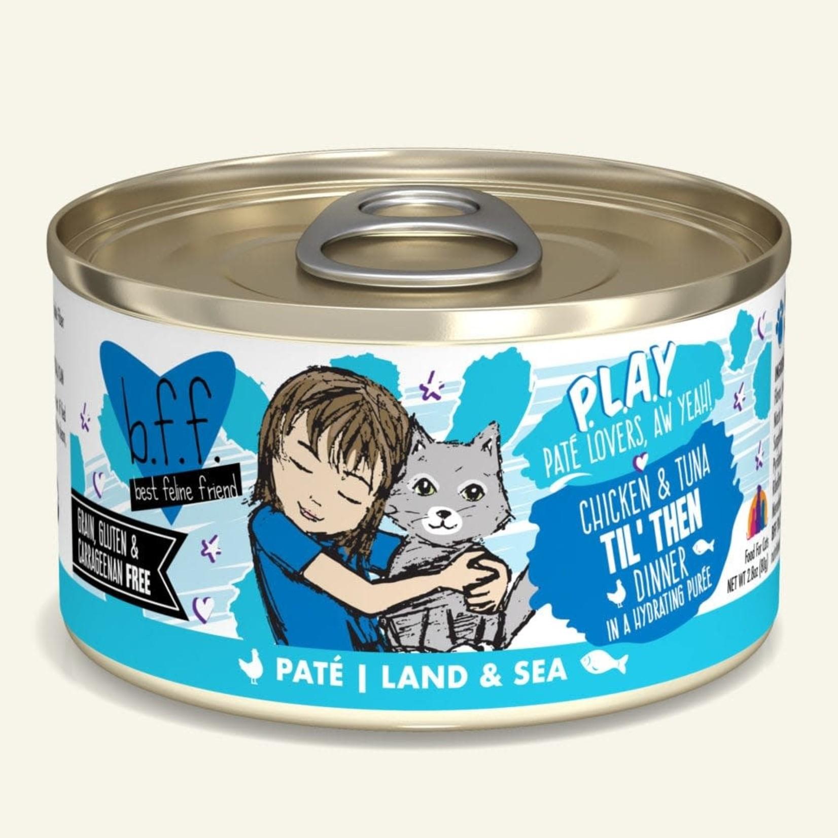 Weruva Inc. BFF PLAY Cat Chicken & Tuna Til' Then 2.8 OZ