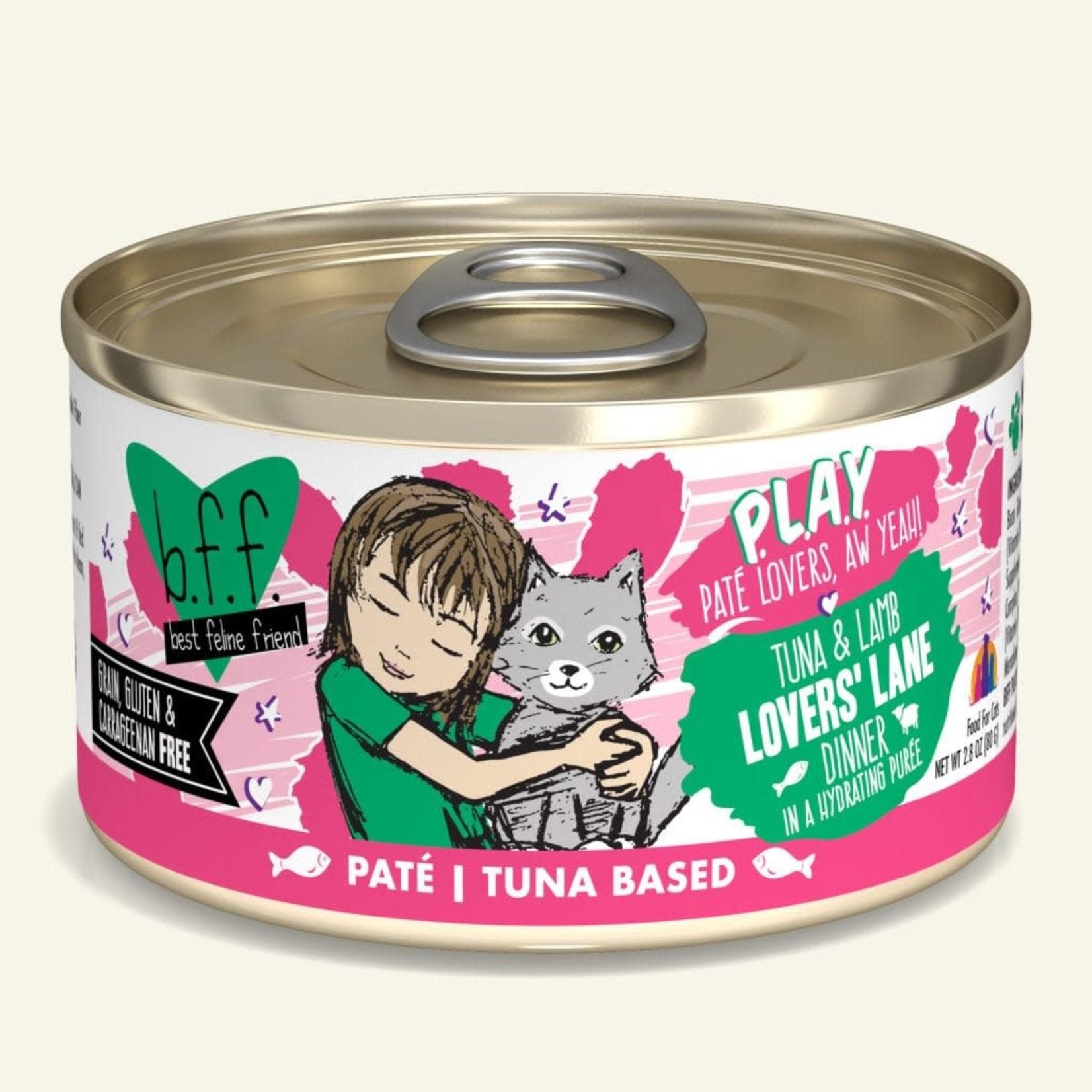Weruva Inc. BFF PLAY Cat Tuna & Lamb Lover's Lane 2.8 OZ