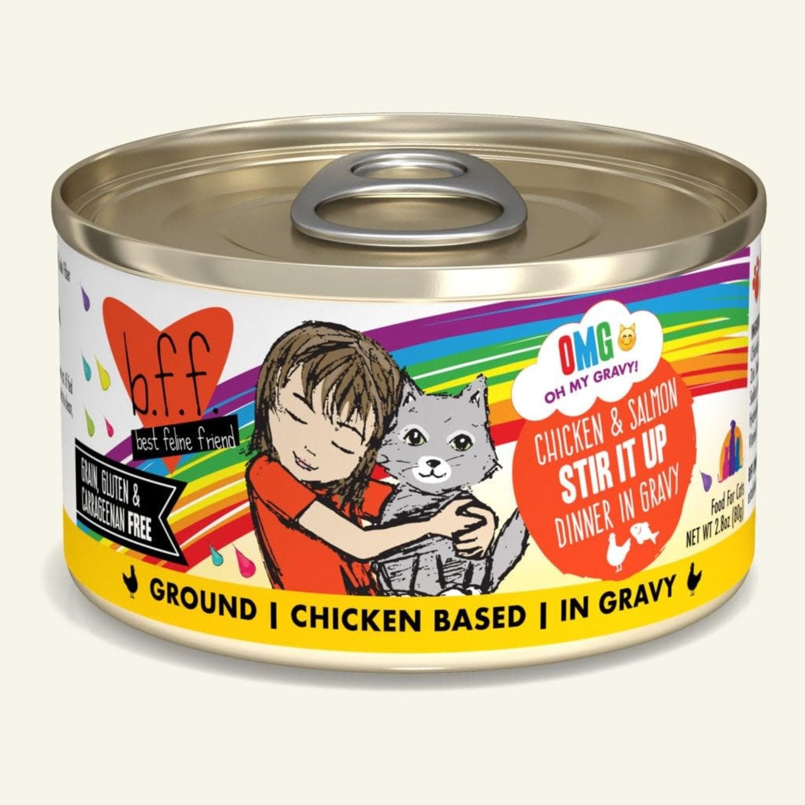Weruva Inc. BFF OMG Cat Chicken & Salmon Stir It Up 2.8 OZ