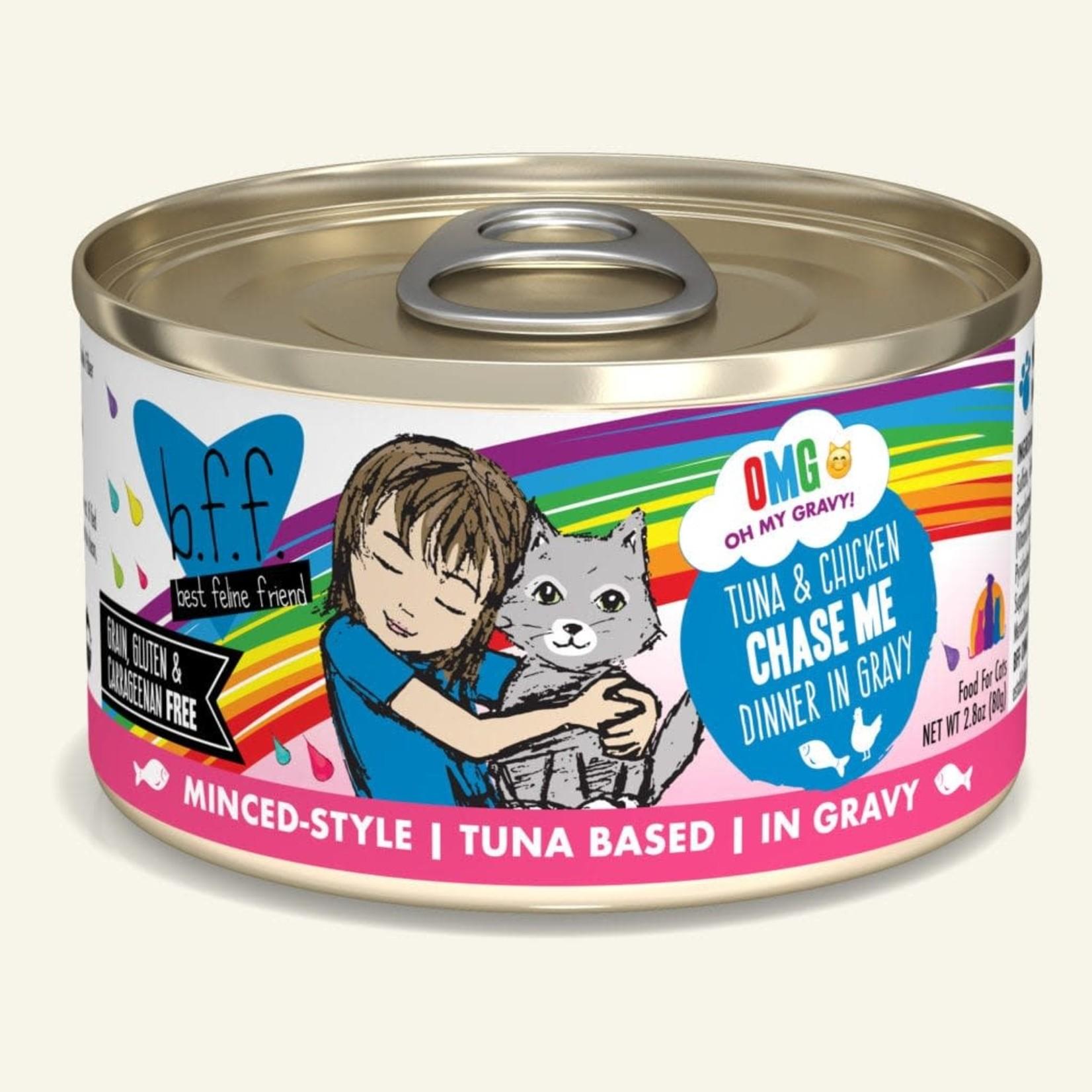 Weruva Inc. BFF OMG Cat Tuna & Chicken Chase Me 2.8 OZ