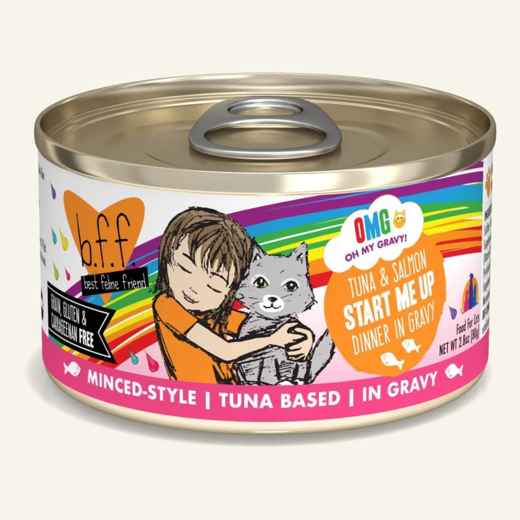 Weruva Inc. BFF OMG Cat Tuna & Salmon Start Me Up 2.8 OZ