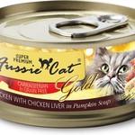Fussie Cat Fussie Cat Gold Chicken & Chicken Liver 3 OZ