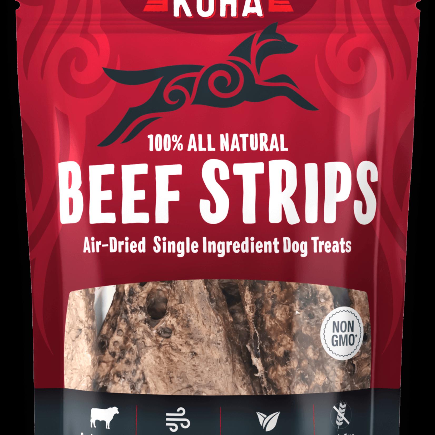 Koha KOHA Dog Air-Dried Beef Strips 3.25 OZ