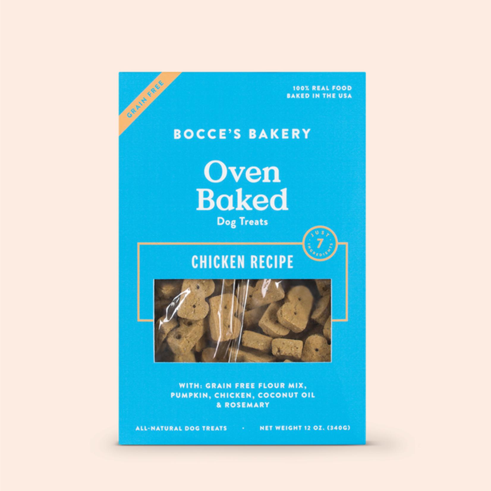 Bocces Bakery Bocces Dog Chicken Biscuit 12 OZ