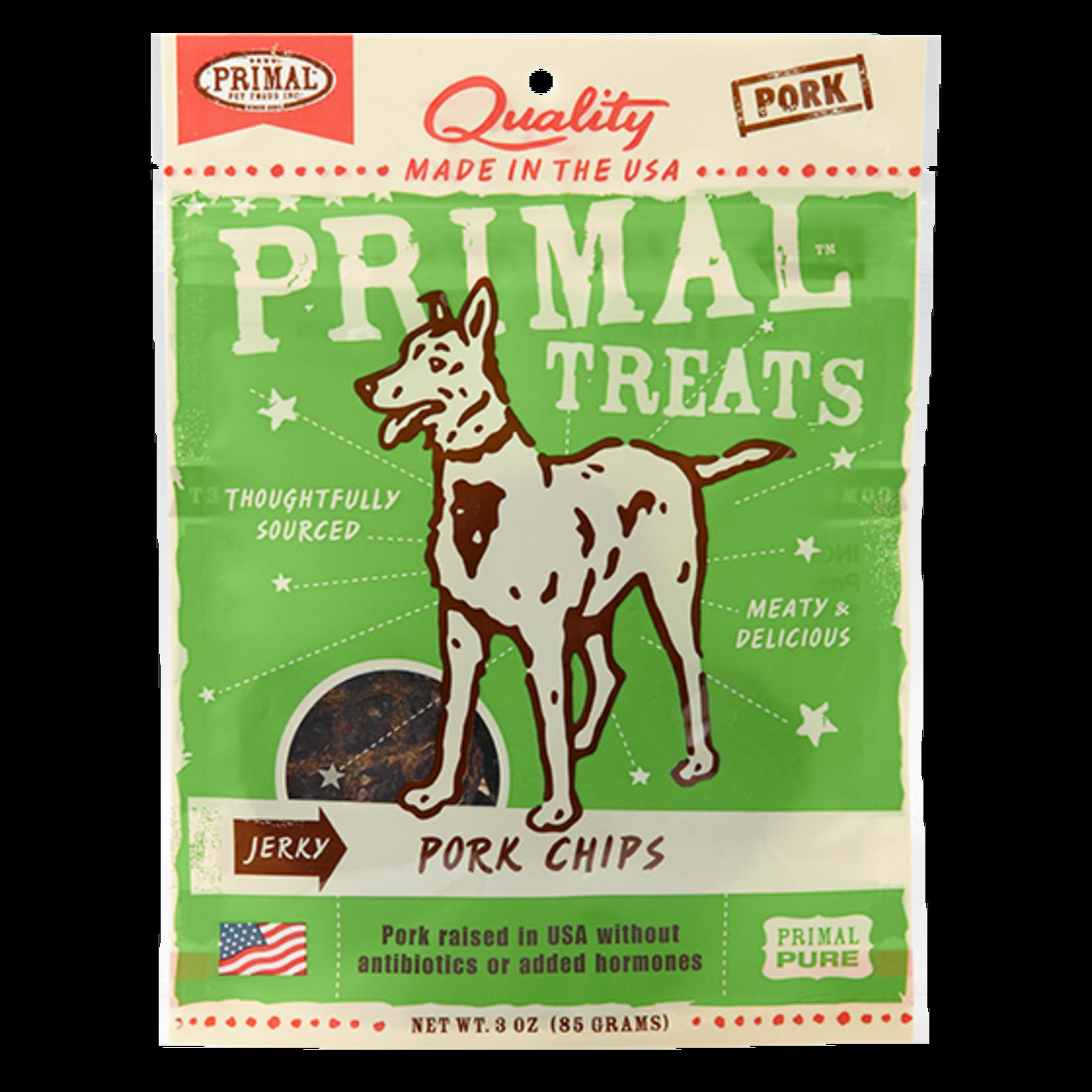 Primal Pet Foods Primal Dog Chicken Chips 3 OZ