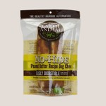 """Earth Animal Earth Animal Dog No Hide Peanut Butter 7"""" 2 PACK"""