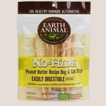 Earth Animal Earth Animal Dog No Hide Peanut Butter Stix 10 PACK