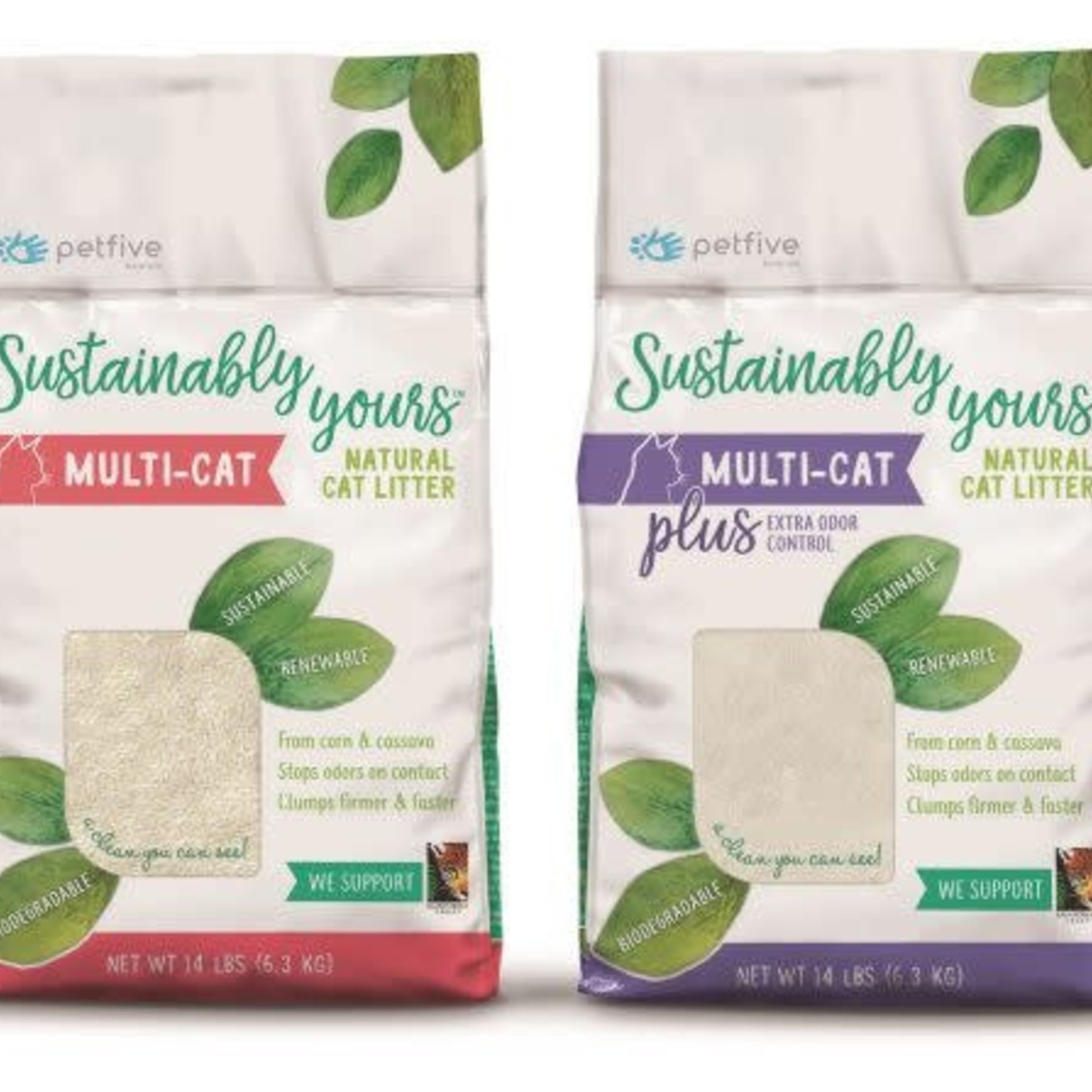 Sustainably Yours Sustainably Yours Litter Multi Cat Regular 13#