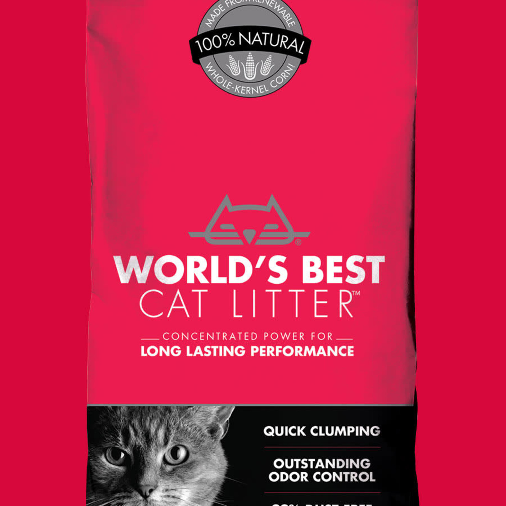 World's Best Litter Worlds Best Litter Multi Cat Red 7#