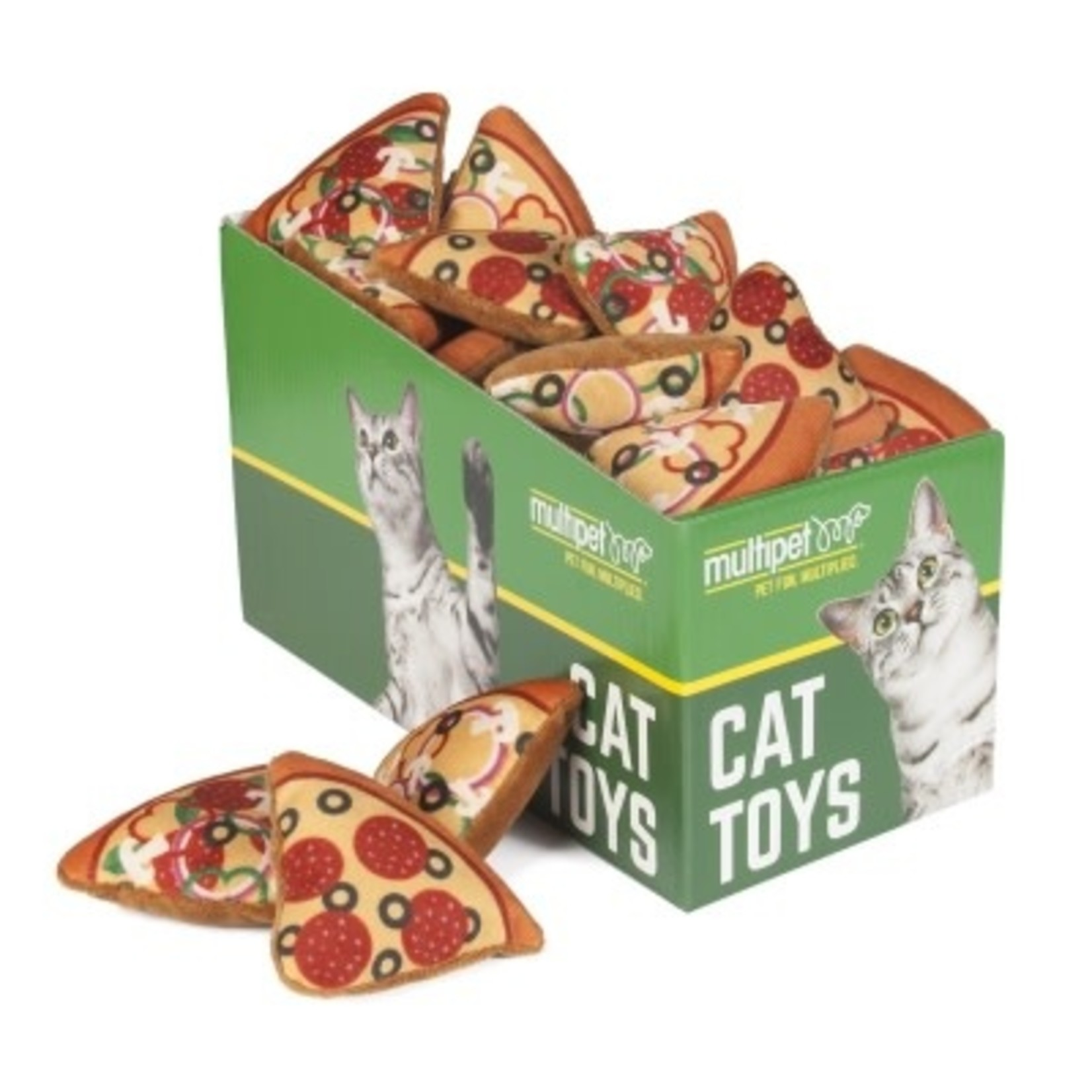 Multipet Multipet Cat Pizza Slice (Single)
