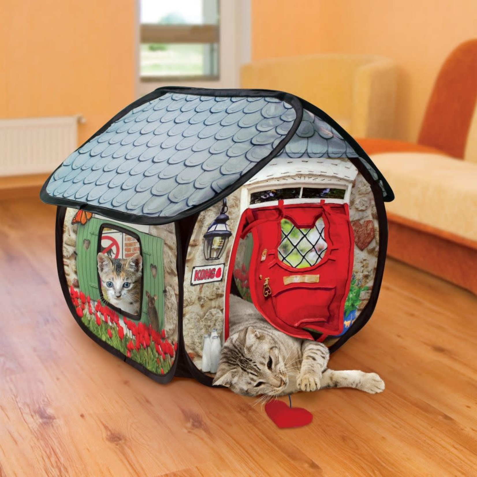 Kong Company Kong Cat Play Spaces Bungalow