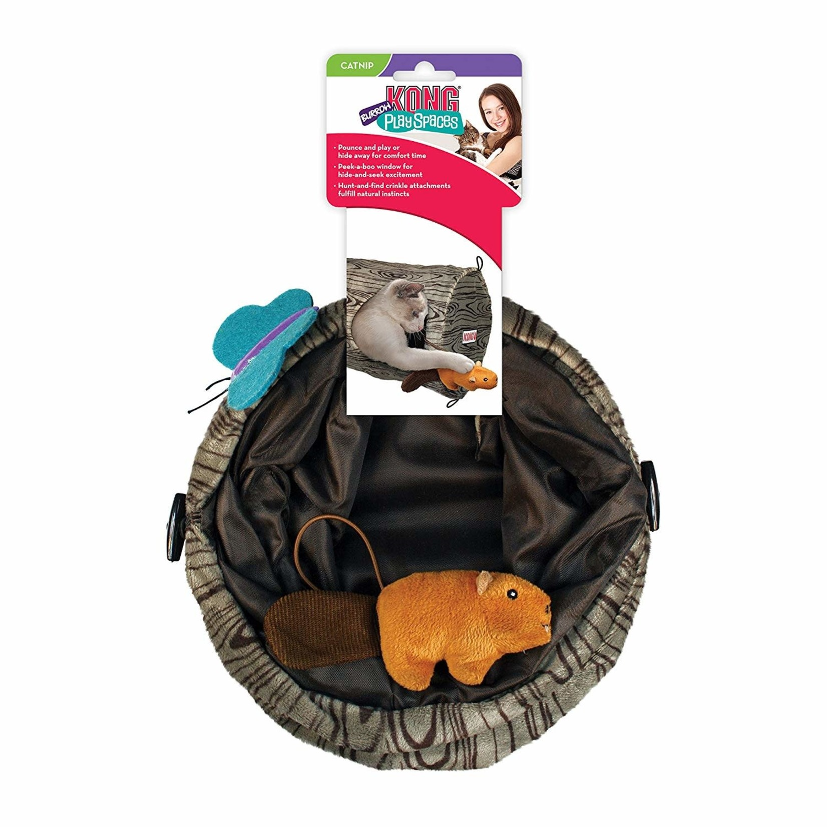Kong Company Kong Cat Play Spaces Burrow