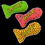 Yeoww Ducky World Inc. Ducky World Yeow! Catnip Stinkies Stars (Single)