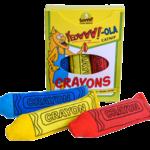 Yeoww Ducky World Inc. Ducky World Yeow! Crayon 3 Pack