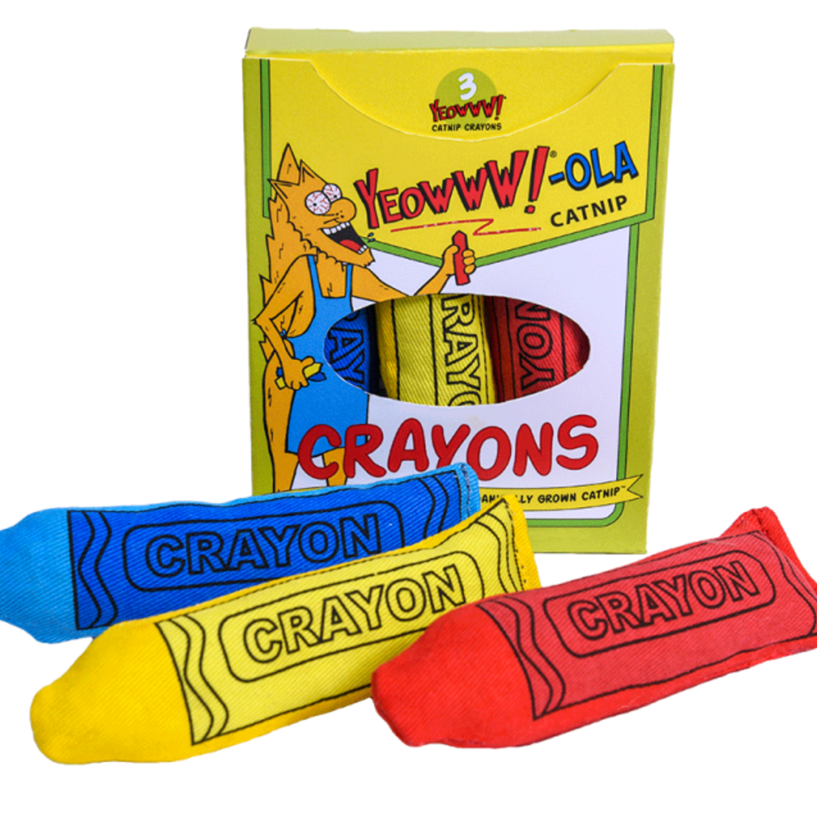 Ducky World Inc. Ducky World Yeow! Crayon 3 Pack