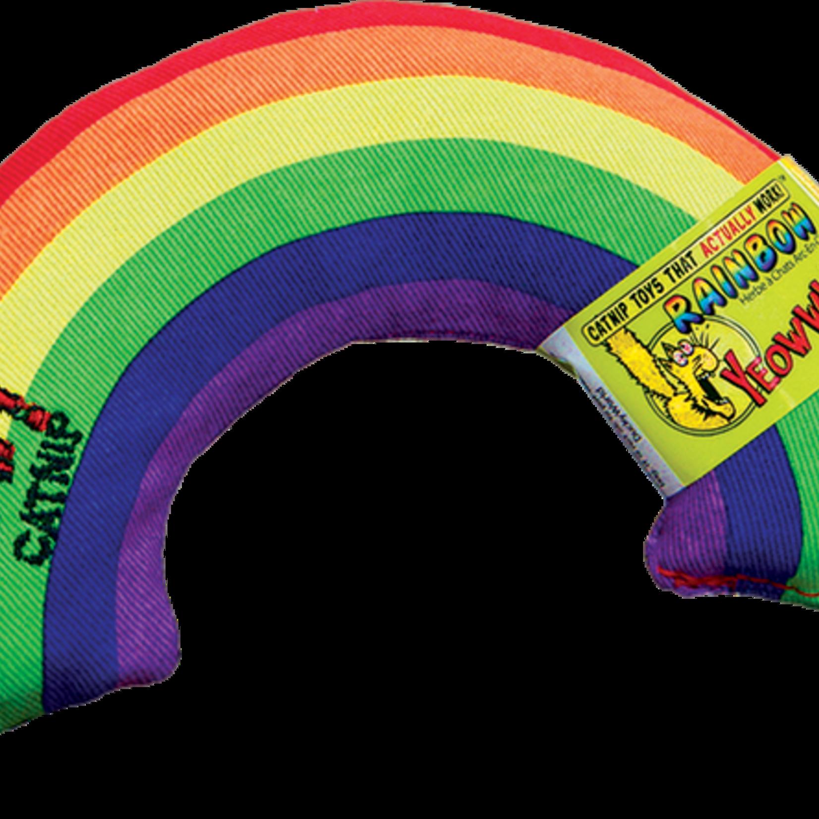 Yeoww Ducky World Inc. Ducky World Yeow! Catnip Rainbow