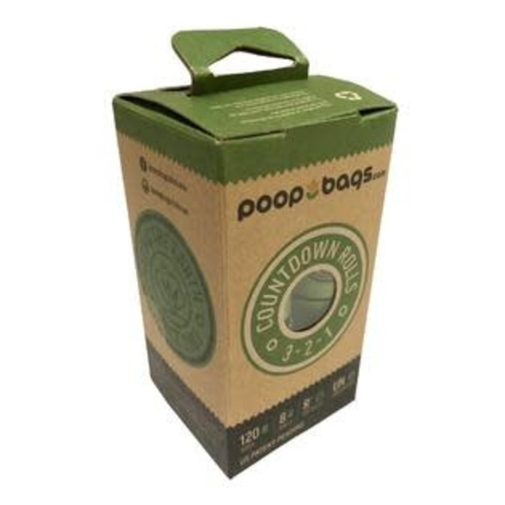 Original Poop Bags The Original Poop Bags 8 Pack Count Down