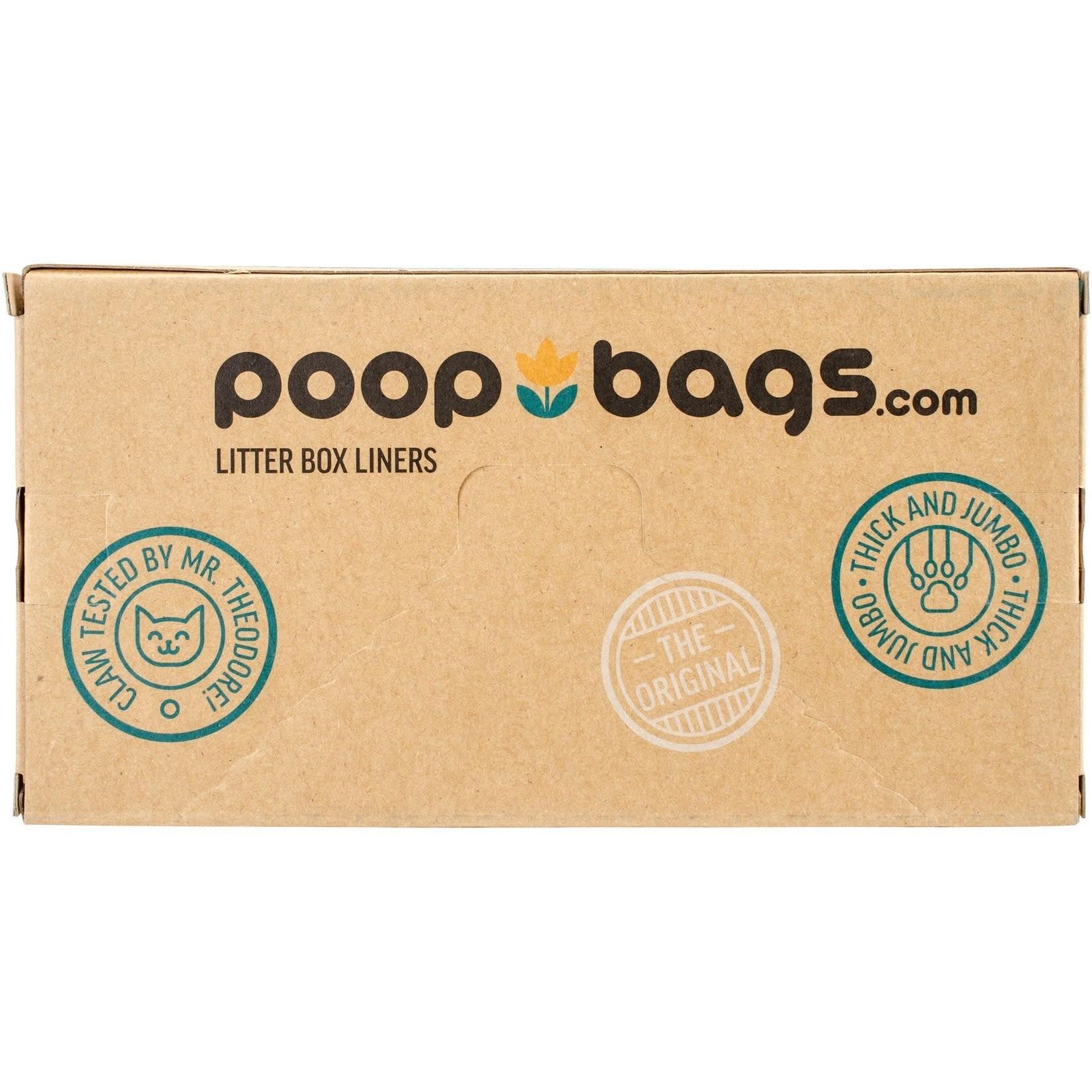 Original Poop Bags The Original Poop Bags Cat Pan Liners 10 Pack
