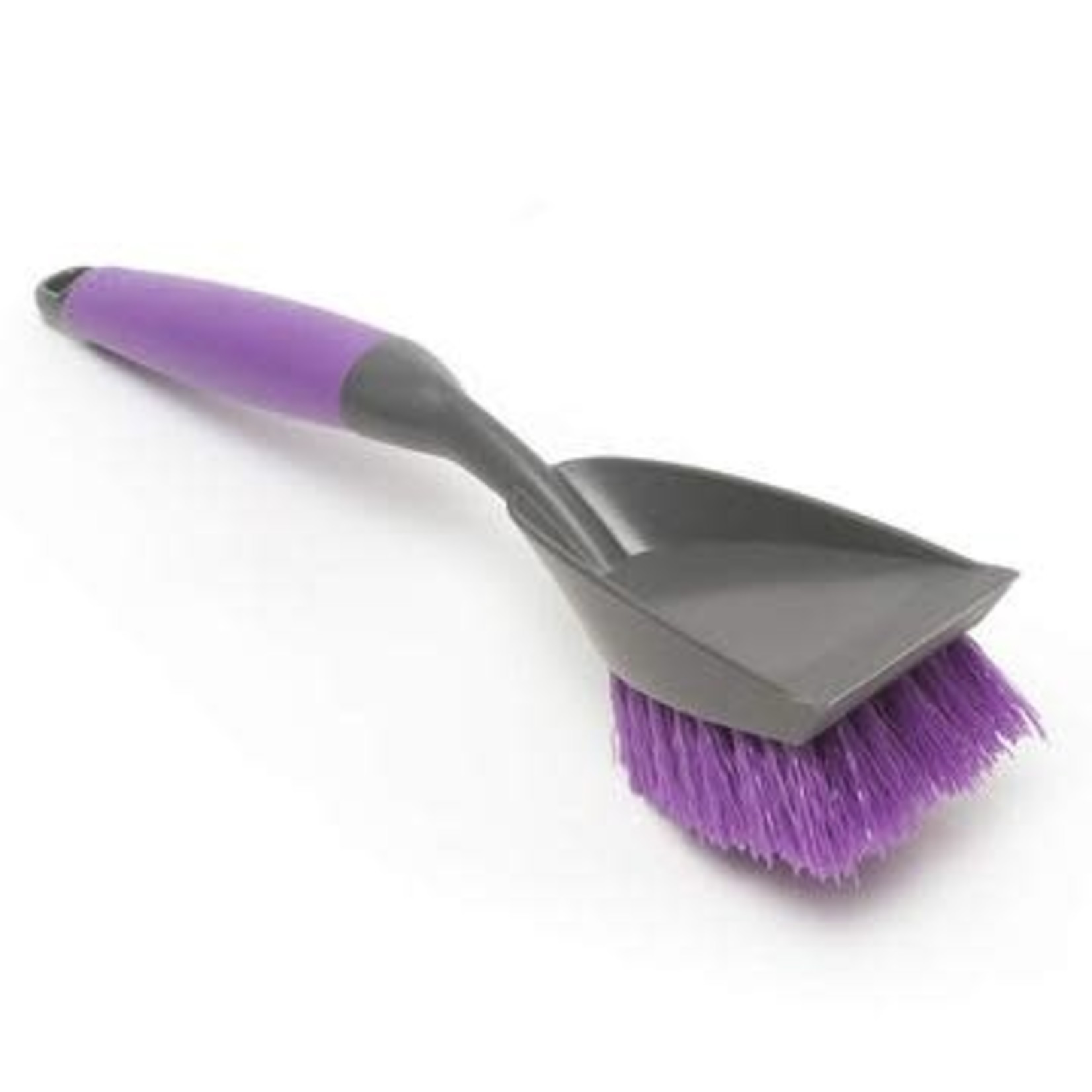 Messy Mutts Messy Mutts Cat Litter Cleaning Brush Purple