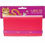 Messy Mutts Messy Mutts Cat Silicone Litter Mat Red