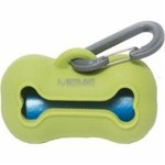 Messy Mutts Messy Mutts Silicone Waste Bag Holder Green