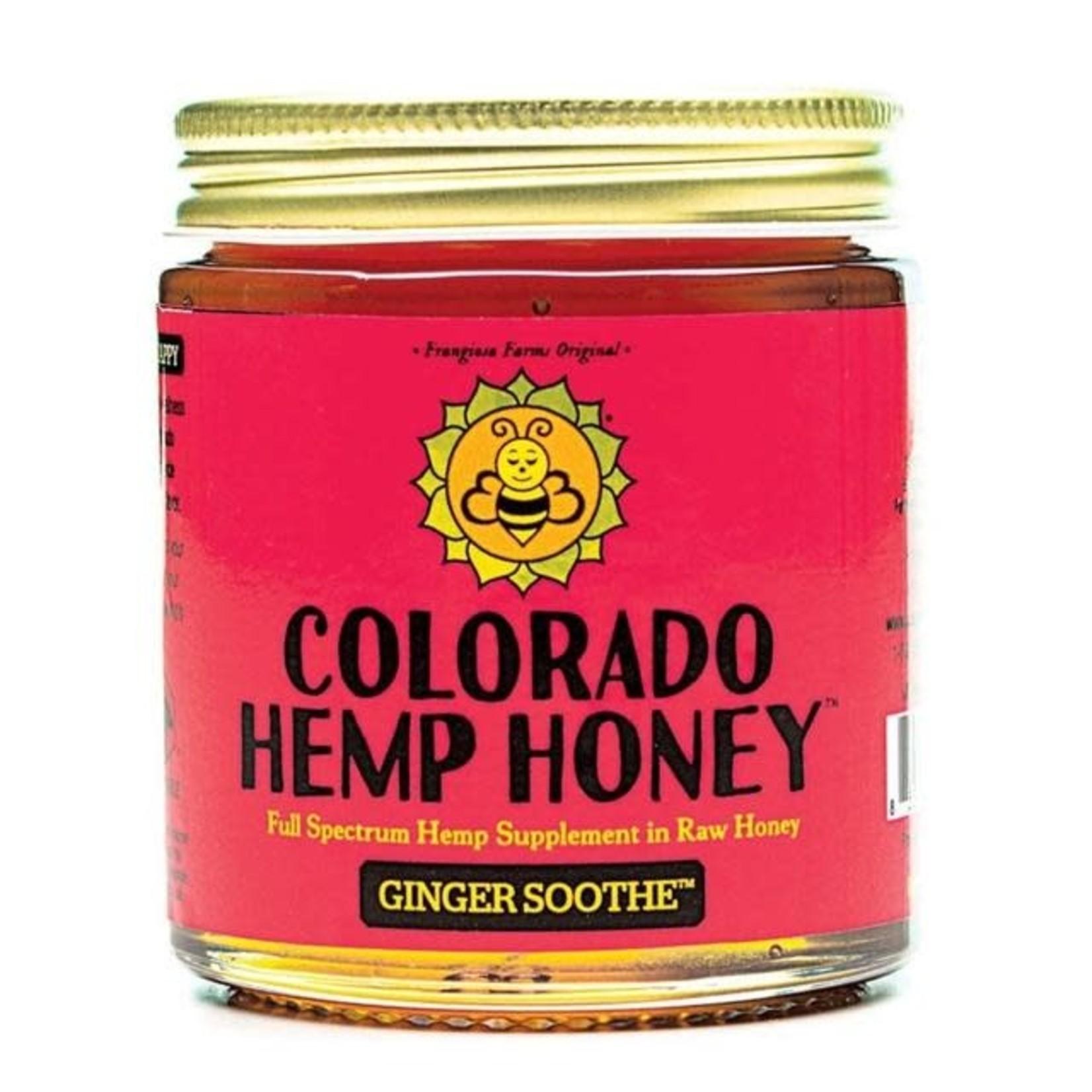 Colorado Hemp Honey Colorado Hemp Honey Ginger Soothe 6 OZ