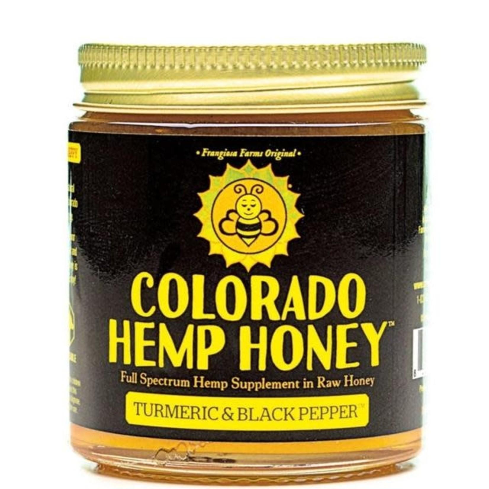 Colorado Hemp Honey Colorado Hemp Honey Turmeric & Black Pepper 6 OZ