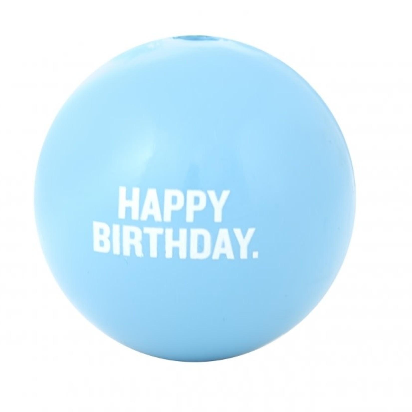 "Planet Dog Planet Dog Happy Birthday Ball Blue 3"""