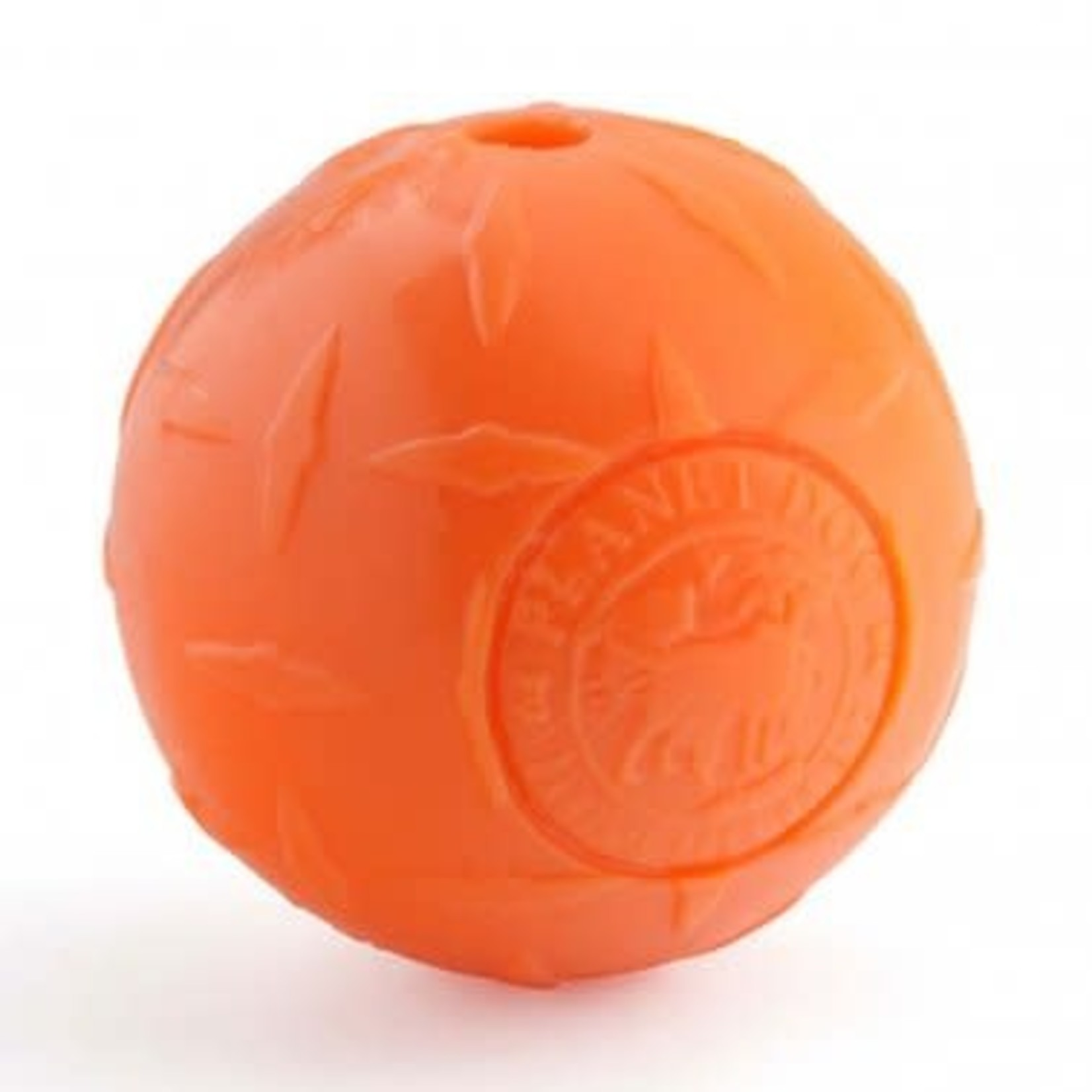 Planet Dog Planet Dog Diamond Plate Ball Orange Small
