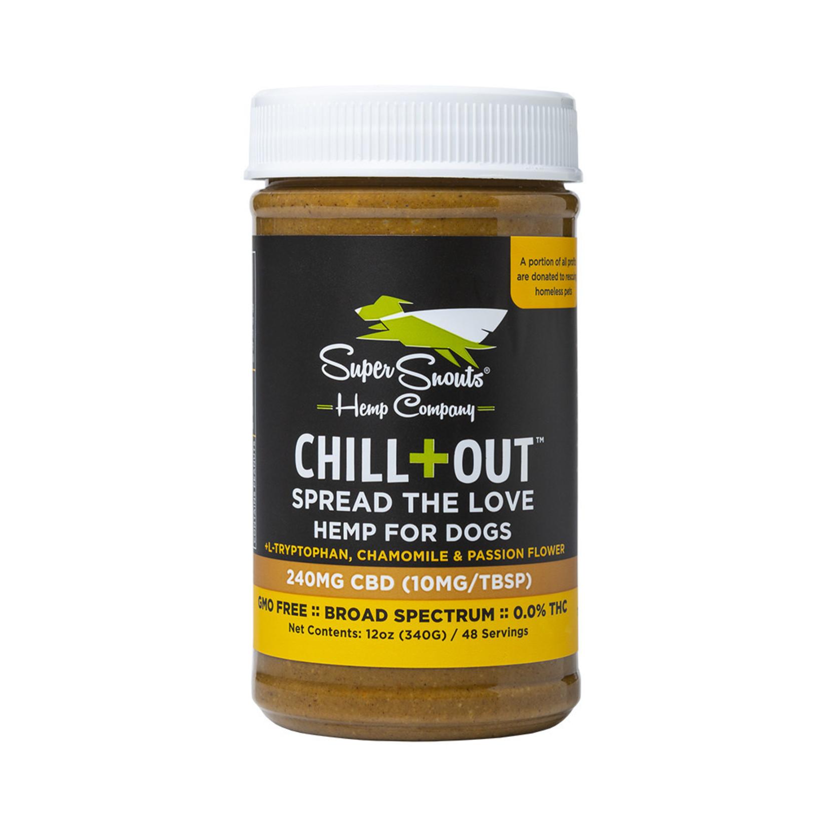 Diggin' / Super Snouts Super Snouts CBD Chill Out Peanut Butter 12 OZ