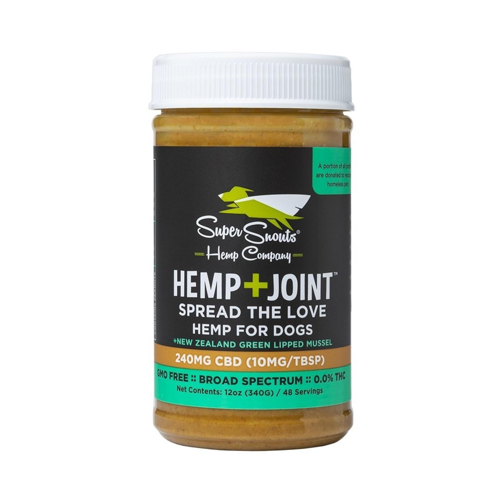 Diggin' / Super Snouts Super Snouts CBD Hemp & Joint Peanut Butter 12 OZ