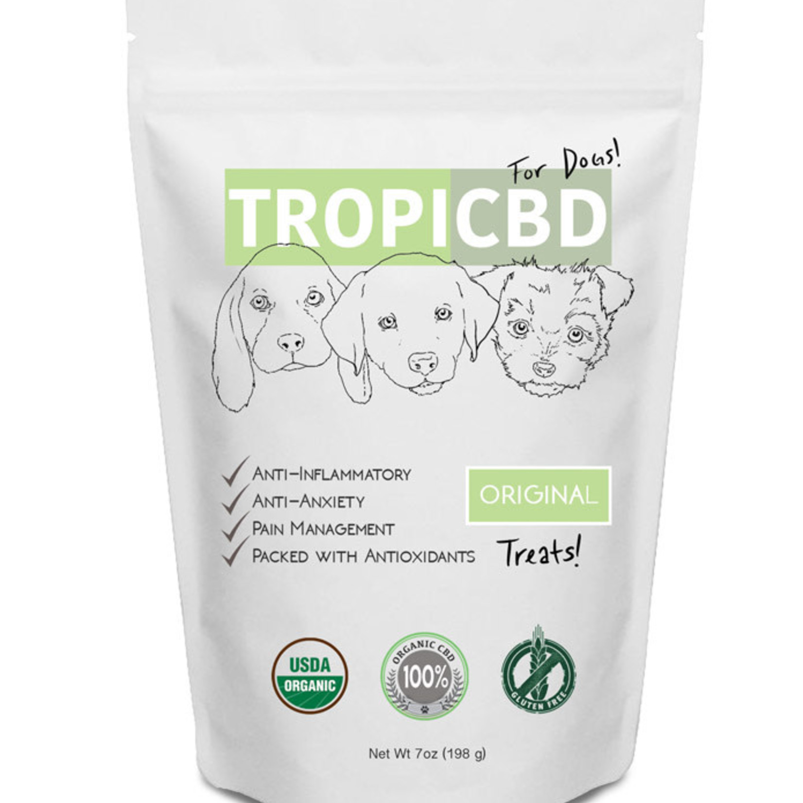 Mount Ara | TropiCBD TropiCBD Treat Original 7 OZ