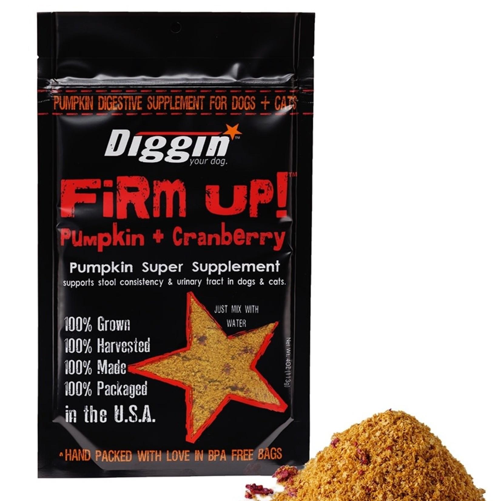 Diggin' / Super Snouts Super Snouts Diggin Firm Up + Cranberry 4 OZ