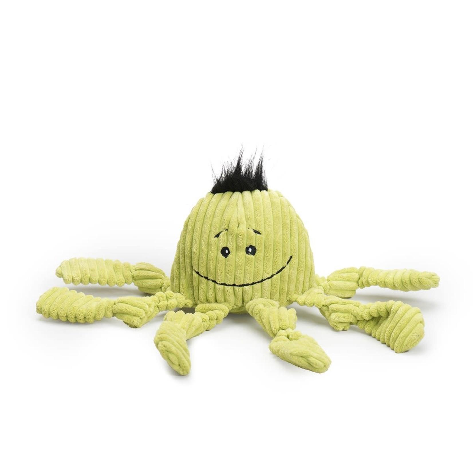 Huggle Hounds Hugglehounds Dog Knotties Octopus Citron Large