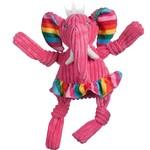HuggleHounds Hugglehounds Dog Knotties Rainbow Elephant Large