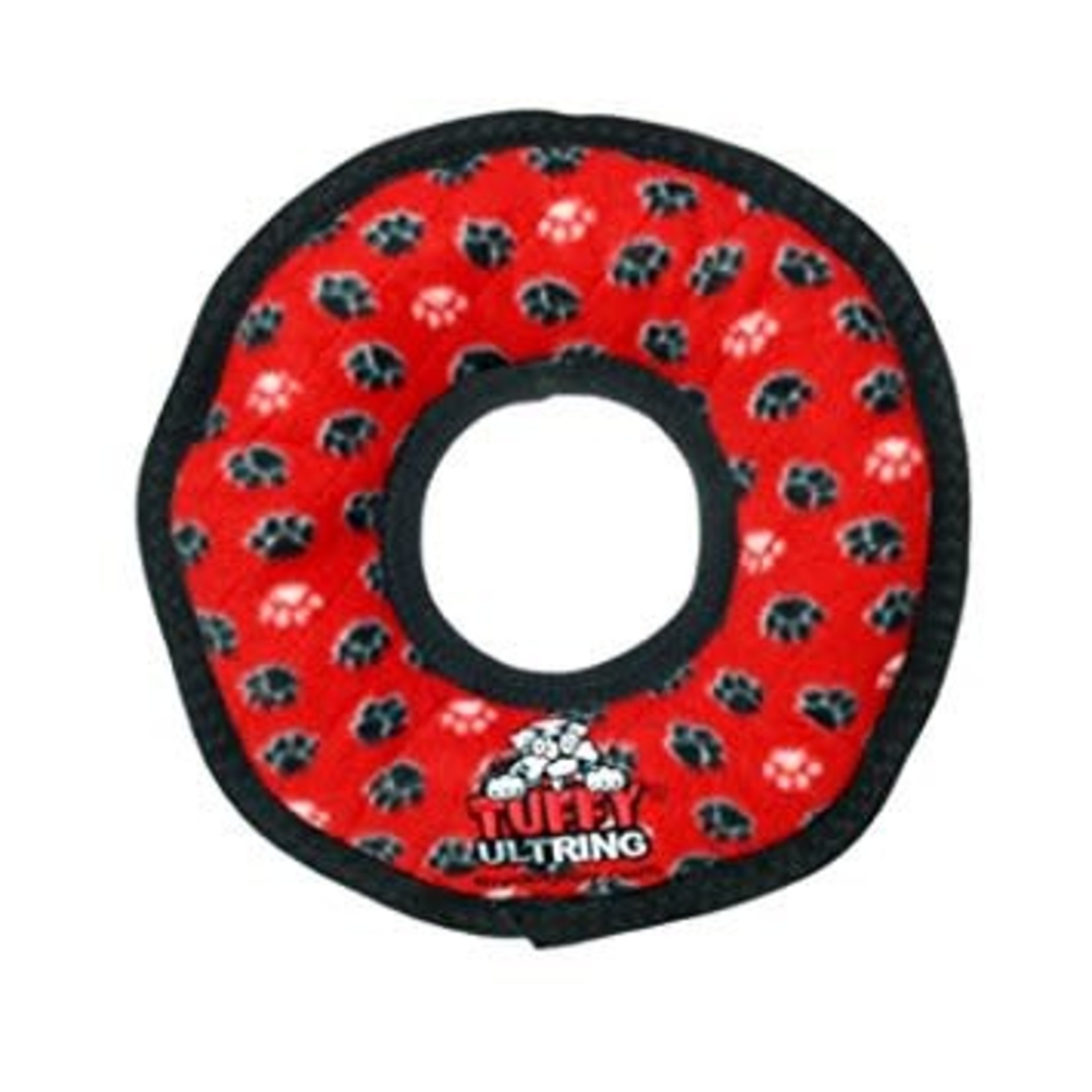 VIP Products / Tuffy VIP Tuffy's Junior Ring Red Paws